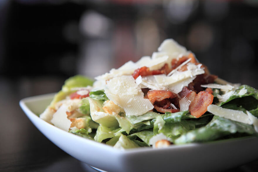 Caesar Salad in a bowl